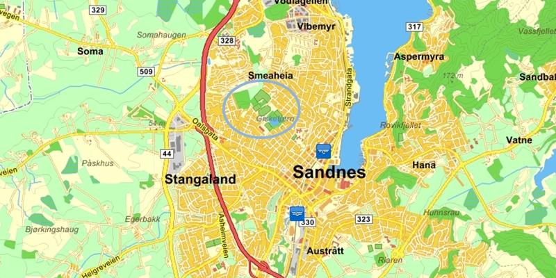 kart over sandnes Sandnes Ulf   Hvor er vi? (kart) kart over sandnes